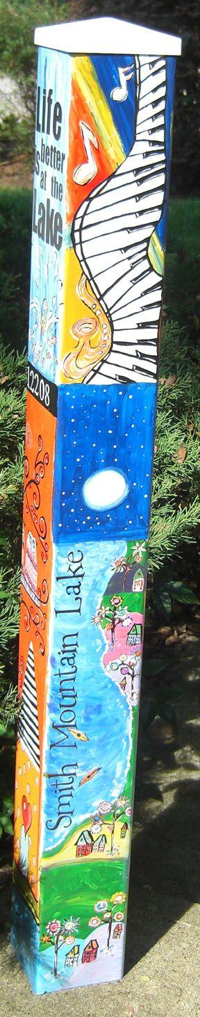 Lorraine's Peace pole for Nancy, side 1