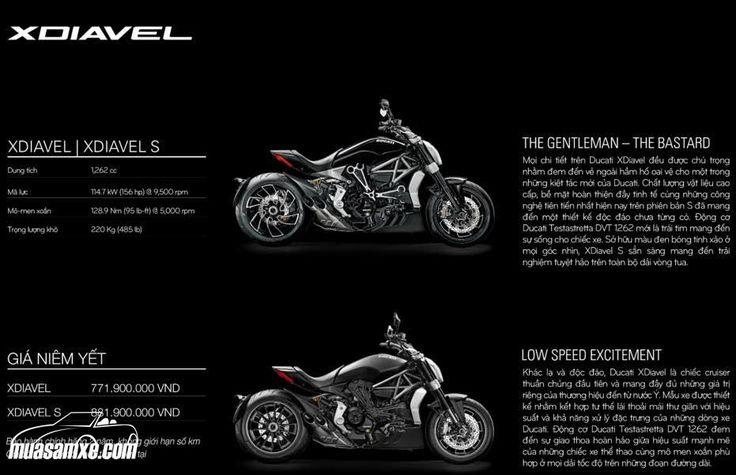 Đánh giá xe Ducati XDiavel 2017 kèm hình ảnh và giá bán chính thức tại Việt Nam: Ducati XDiavel 2017 là thế hệ hoàn toàn mới của dòng Diavel và đã được khách tham quan tại triển lãm EICMA 2015 bình chọn là mẫu mô tô đẹp nhất. Thiết kế của XDiavel 2016 thể hiện tham vọng đưa chất thể thao mạnh mẽ của Ducati vào thế giới những chiếc xe cruiser thuần chủng. Ducati đã phân biệt khá rõ ràng ranh giới giữa Diavel và XDiavel. Một bên là tư thế lái nặng về sport với ưu thế tốc độ và ôm cua trong khi…