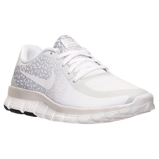 Women's Nike Free 5.0 V4 Print Running Shoes - 695168 011 | Finish Line