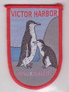vintage patch little penguins of victor harbor