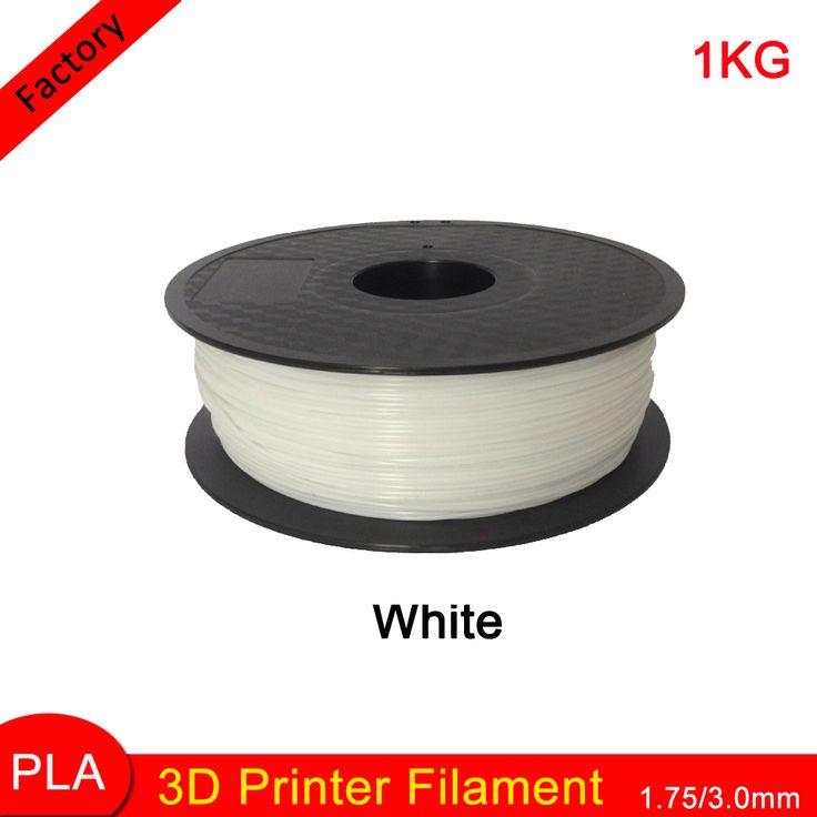 Encontrar Más Partes de Impresora Información acerca de De Color blanco 3D Filamento Impresora EPL 1.75/3.0mm 1 KG libras con Carrete para Makerbot Printrbot Reprap 3D Material de plástico de la impresora, alta calidad devanado de filamentos, China impresora móvil Proveedores, barato filamento abs de fun to buy online en Aliexpress.com