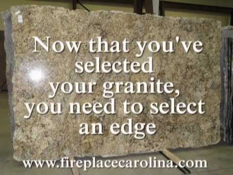 Granite edges for countertops are available in many shapes. The edge or profile that you choose can have a dramatic impact on the look and feel of your granite counter tops and your kitchen. It can also have an impact on the cost of your countertops.The detail of the shape of granite countertop edges will affect cost, function, and cleanability....