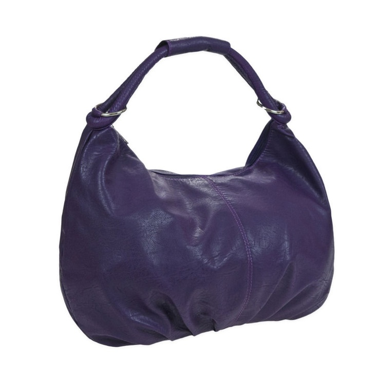 Penelope Pond Boho Slouch Handbag - Purple