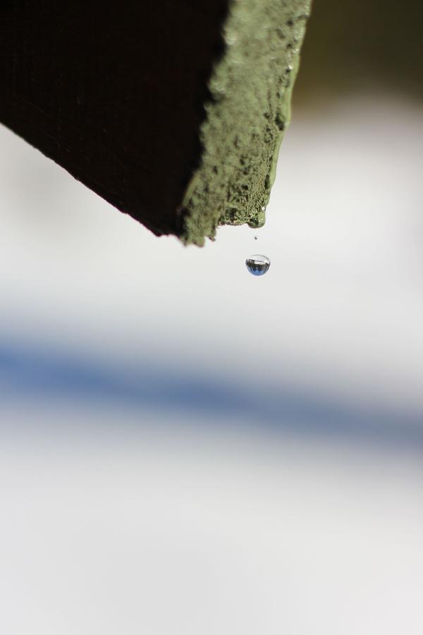 Et Nytt Kapittel - drop, the snow is melting, photography