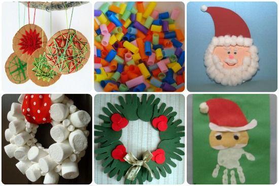 Decorazioni di Natale per bimbi piccoli