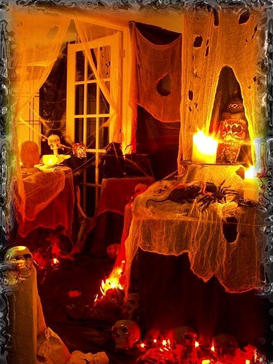 25 happy halloween decoration ideas - Halloween House Decoration Ideas