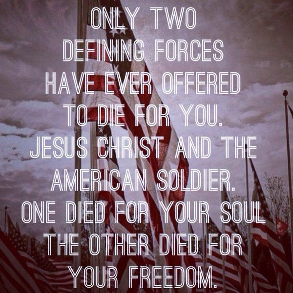 "nothing else needs to be said...when you understand these words, you understand ""life & liberty.""  We need God, we need true patriotism once again.  -Jo Wilmer"