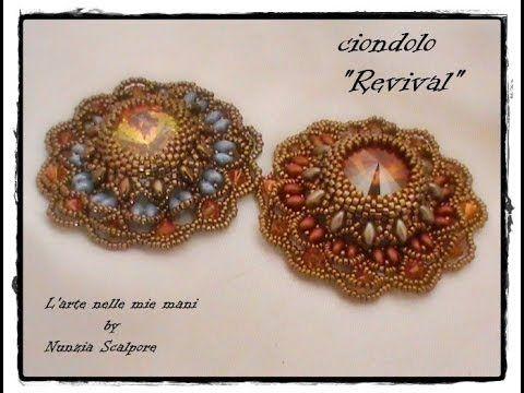 """DIY tutorial ciondolo """" Revival"""""""