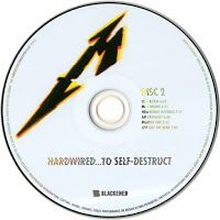 Encartes Pop: Encarte: Metallica ‎- Hardwired... To Self-Destruct (Deluxe Edition)