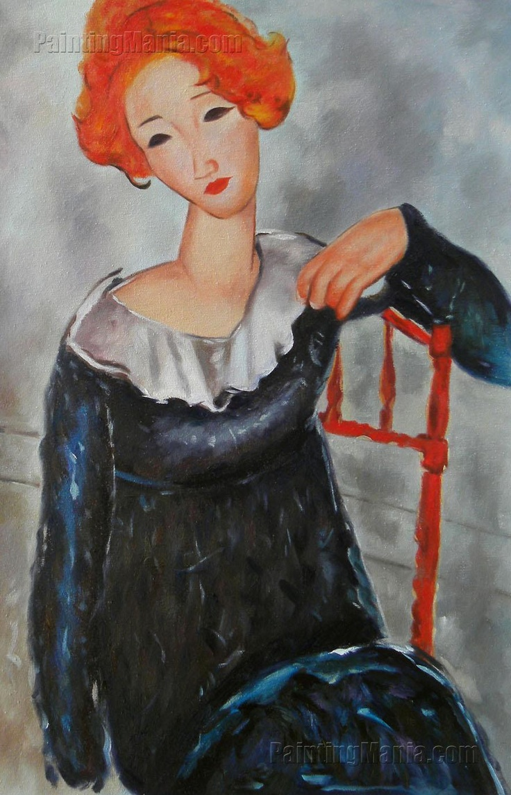Women with Red Hair by Amedeo Modigliani