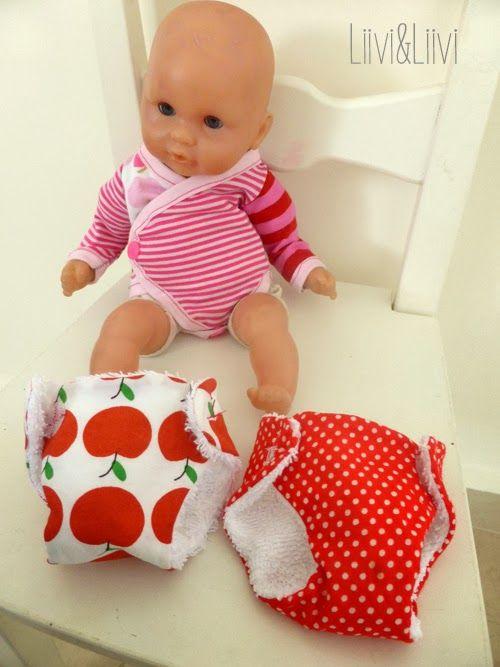 Puppenkleidung - Freebook