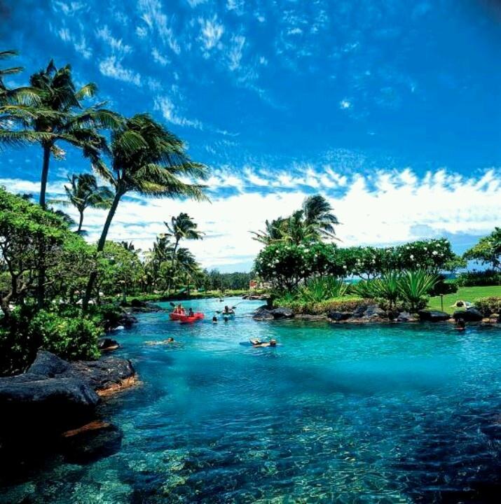 Grand Hyatt, Kauai Hawaii. The best place to stay in Kauai!