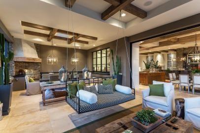 Open Living Area in Arizona Desert Retreat