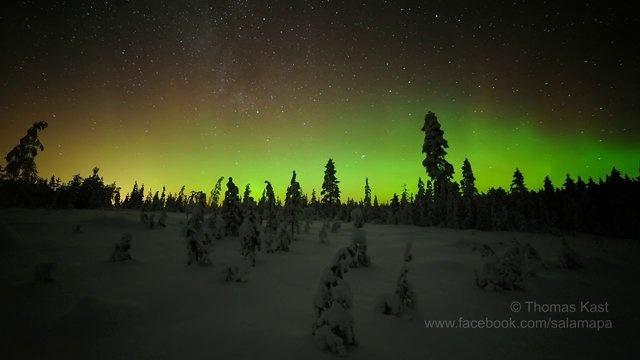 Aurora sequence - Rokua, Finland 16.01.2013 from Thomas Kast