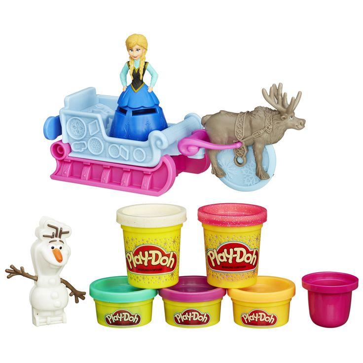 Play-Doh Frozen dobrodružstvo na saniach