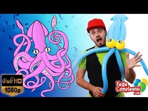 Palloncini Modellabili Calamaro Gigante - Balloon Animals - Palloncini per bambini - palloncini modellabili, in questo articolo continueremo la nostra avventura nel magico mondo sommerso e andremo alla ricerca degli 'abitanti del mare'!!  non perdete il nostro tutorial per creare il Calamaro Gigante!!!