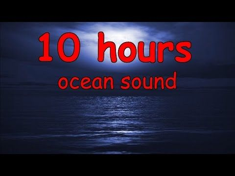 10 hours of guided meditation with ocean wave sounds