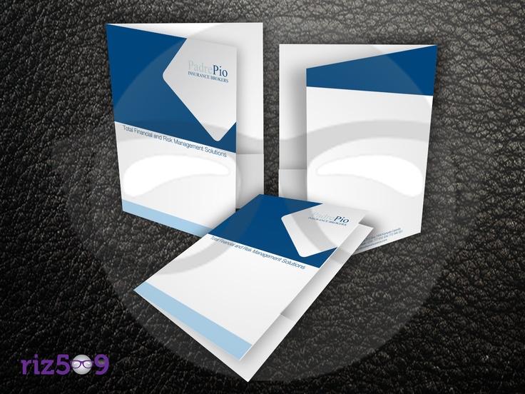 20 best presentation folders designs images on pinterest business presentation folder tow pocket size pocket size with business card slit lamination matte printing full color out side reheart Gallery