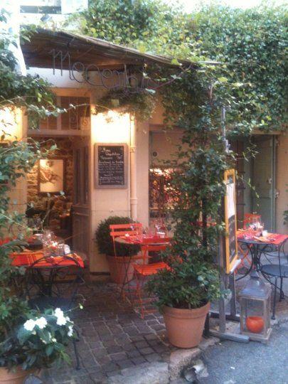 Restaurant Mecenate - Mougins, Alpes-Maritimes, Frankreich