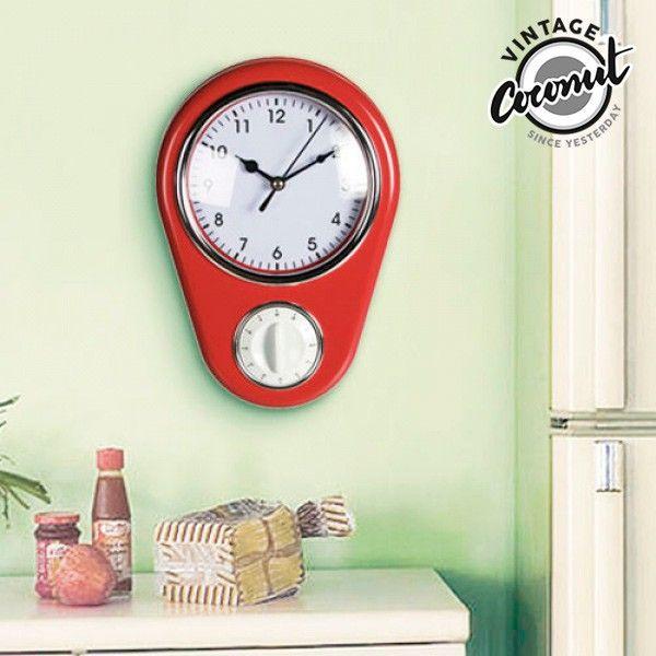 El mejor precio en Hogar y Jardín en tu tienda favorita  https://www.compraencasa.eu/es/relojes-de-pared-sobremesa/5351-reloj-de-pared-vintage-cuentaminutos.html