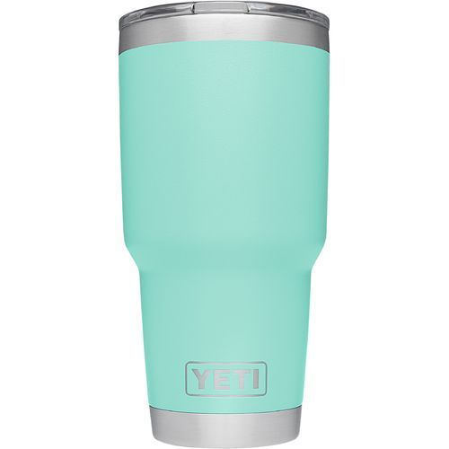 The YETI DuraCoat Rambler 30 oz Tumbler is made of stainless-steel with a DuraCoat™ Color finish and has double-wall vacuum insulation.