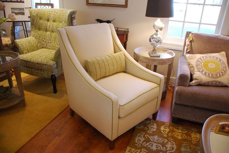 Eva Chair With Custom Lumbar Pillow | Norwalk Custom | Pinterest | Pillows, Norwalk  Furniture And Walls