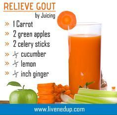 The recipe above is for Gout. You just need to look at it and know of its simplicity, so do not make excuses when it comes to trying this juicing recipe. On top of that, it tastes delicious and is super healthy. Gout is simply deposits of sodium urate cry