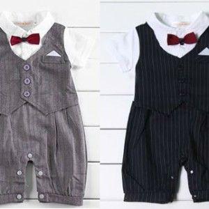 Boy Suit Romper R300 www.babyheadbands.co.za www.mybabyheadbands.com