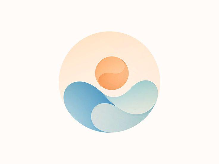 Sunrise by Yoga Perdana #Design Popular #Dribbble #shots