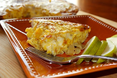 Caramelized Onion and Fontina Frittata | Dishes to try | Pinterest