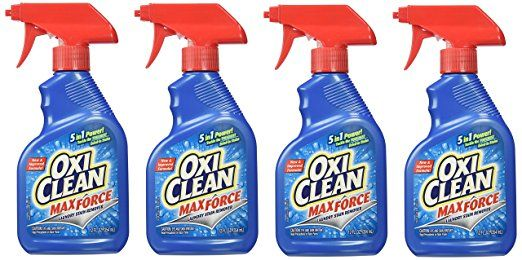 Oxiclean Max Force Stain Remover Spray 12 Ounce Pack Of 4