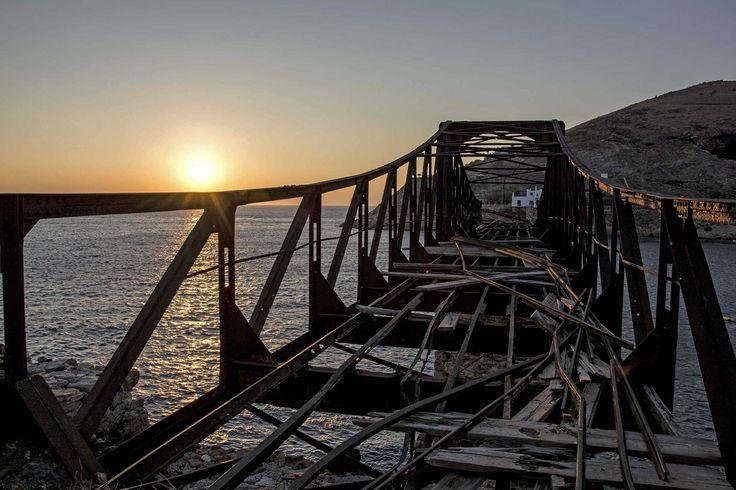 Abandoned mines, Serifos island.