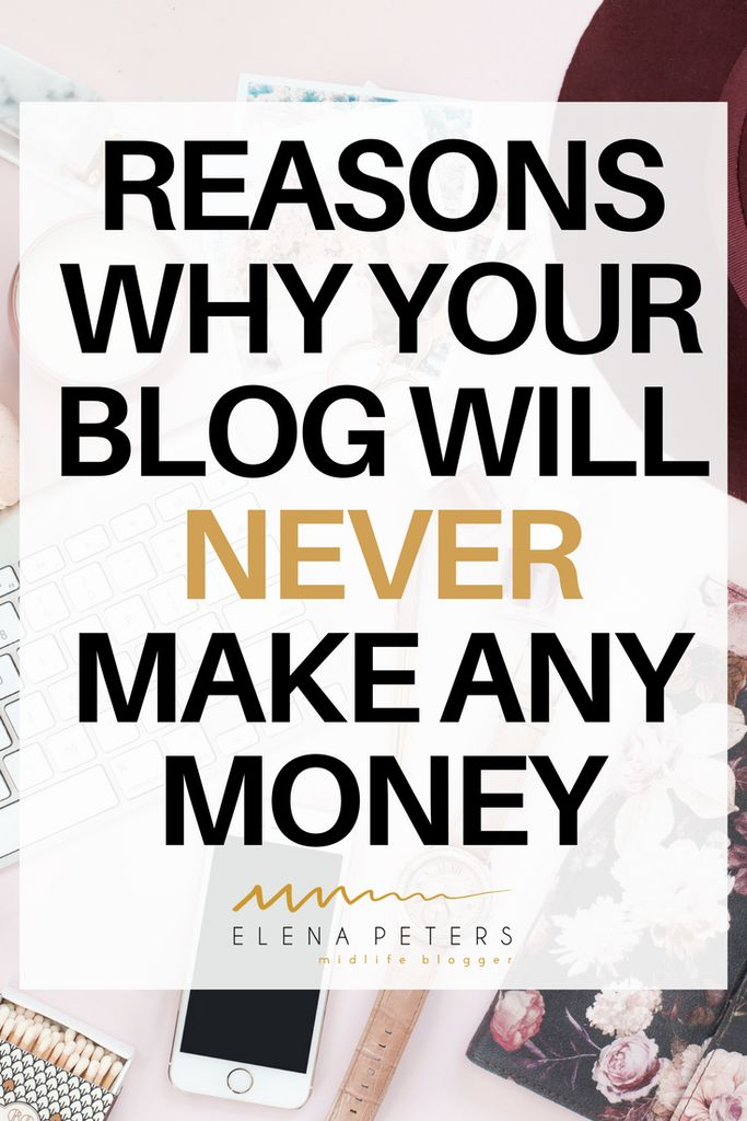I got to thinking, what is the difference between my blog, that makes me $3000/month, and a blog that doesn't make any money. And while I do believe there are many extraneous circumstances that can make or break a blog, click through for a list of reasons you can tackle and overcome to help your blog make an income. #makemoneyblogging #blogging#blog