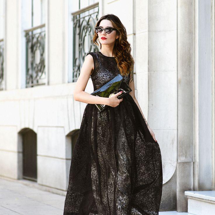 Temporada de largos y transparencia #DanielaBozza #Bozzastyle #Bozzadress #designer #love #vogue #streetstyle