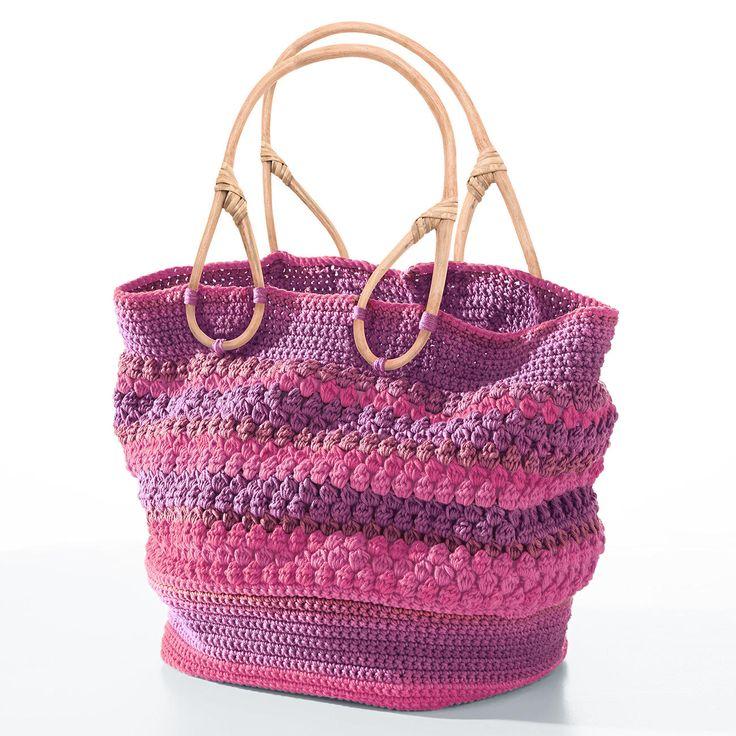 Modell 426/5, Tasche aus Pinta von Junghans-Wolle « Schönes für Zuhause « H…
