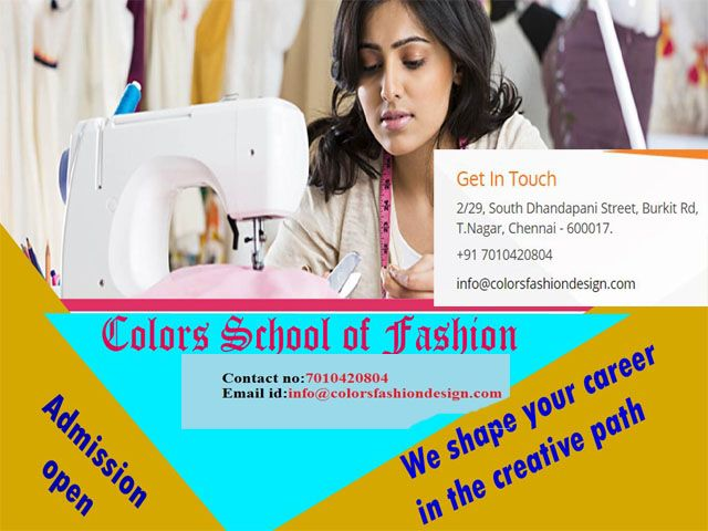 Learn Fashion Designing Course Technology Fashion Fashion Designing Institute
