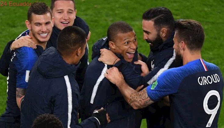partido de dinamarca vs francia