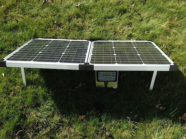 Stupid-Easy Portable Solar Panels for RV, Off Grid, Boondocking and Camping