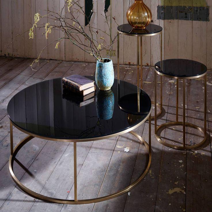 Circular Lamp Stand Brass Bass