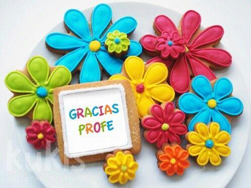 Galletas flores
