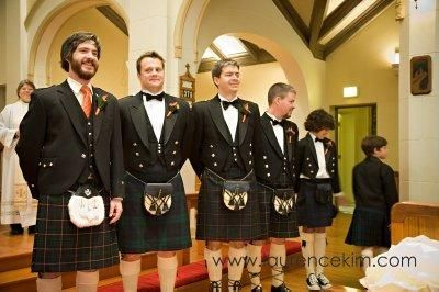 too funny!!  - Michael and his groomsmen in kilts and converse sneakers