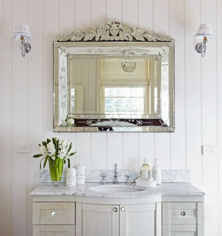Would Love Love This Marble Top Spa French Inspired Bathroom