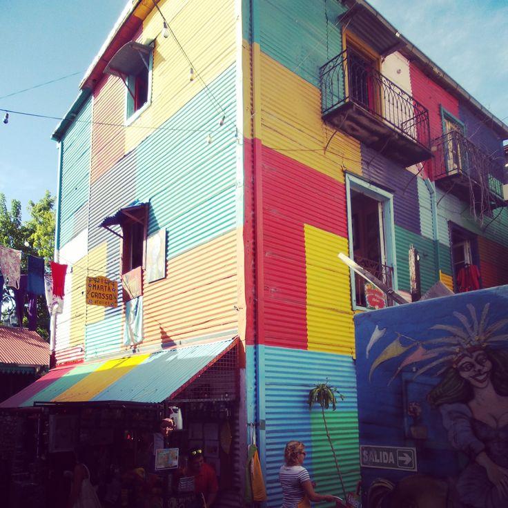 Conventillo in Caminito, La Boca.