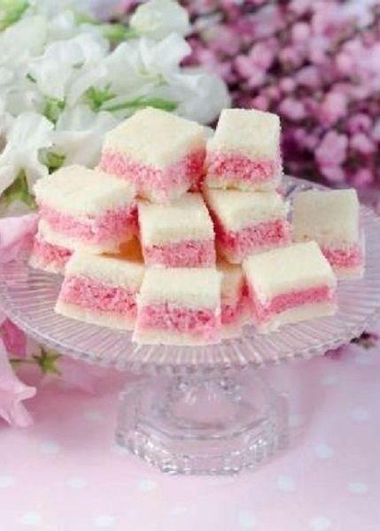 Pink Finger sandwiches
