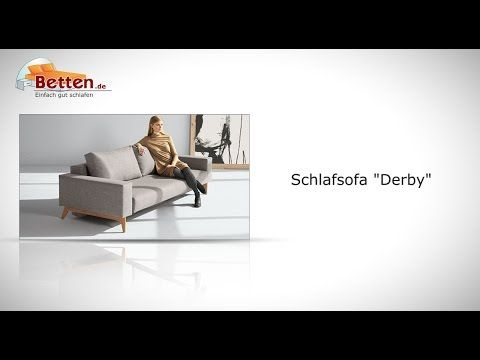 "Designer-Schlafsofa ""Derby"" mit Federkernmatratze. | Betten.de #schlafsofa #modern http://www.betten.de/designer-schlafsofa-federkern-bettkastentuch-derby.html"