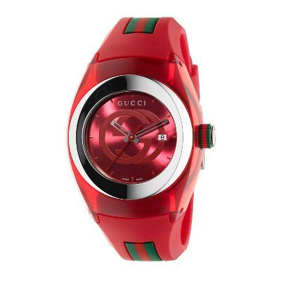 Gucci� SYNC M Stainless Steel Men's Watch available at #HelzbergDiamonds