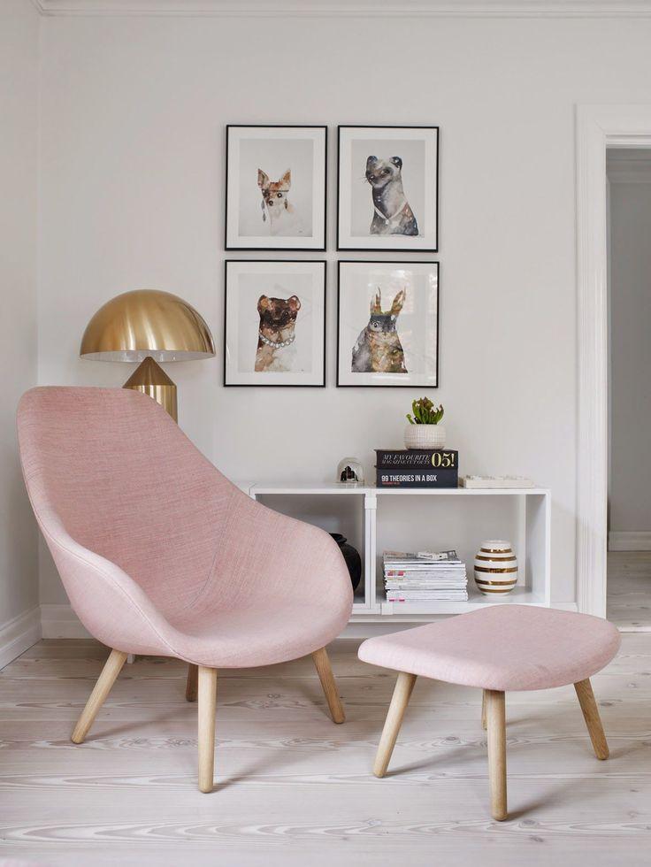 About A Lounge Chair Sessel von HAY. Kompakter Clubsessel mit hoher Rückenlehne und angenehmer Sitzhöhe kreiert Hee Welling: http://www.ikarus.de/designer/hee-welling.html Wer nachfragt, bekommt ihn auch in Rosa!