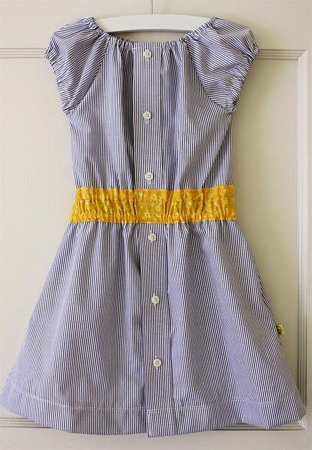 the original Shirt Dress--seaside stripes (dana-made-it.com, made, made blog, dana made it, dana willard)