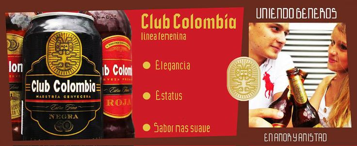 Amor y Amistad Cerveza CLUB COLOMBIA