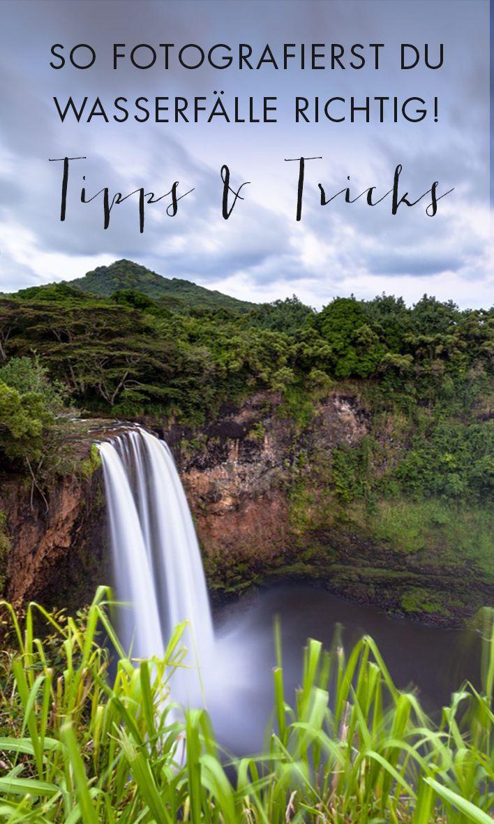 Lerne, wie du Wasserfälle optimal in Szene setzt und wie dabei tolle Fotos entstehen!